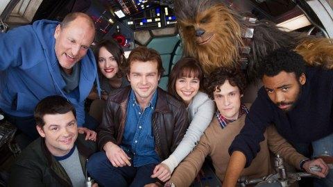 Des scènes du film sur Han Solo tournées en Angleterre ?