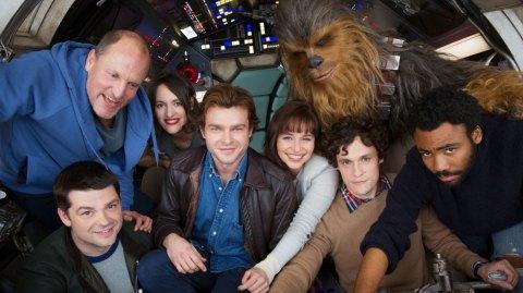 Photos des décors anglais du tournage sur Han Solo