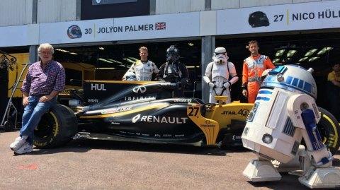 George Lucas invité par Renault au Grand Prix de F1 de Monaco