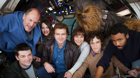 Photos des décors espagnols du film sur Han Solo