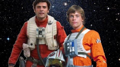 Les points communs de Luke Skywalker et Poe Dameron