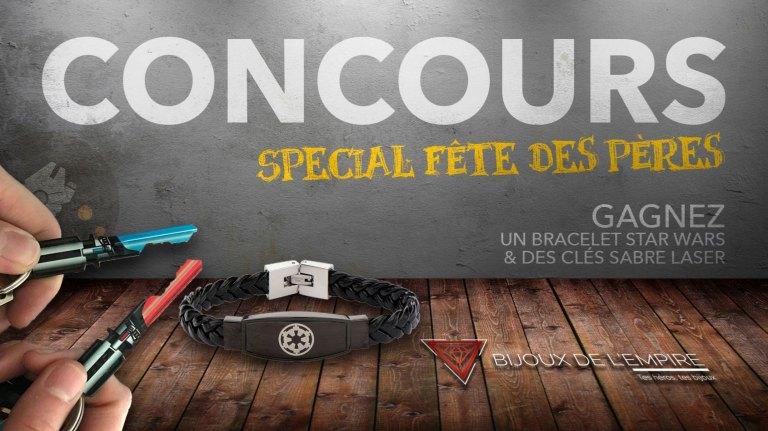 concours f te des p res gagnez un bracelet et des cl s. Black Bedroom Furniture Sets. Home Design Ideas