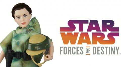 De nouvelles images pour les figurines ''Star Wars:Forces of Destiny''