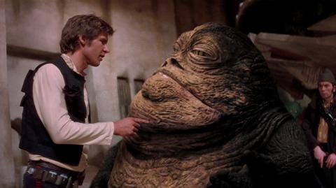 Jabba le Hutt serait dans le spin off sur Han Solo !