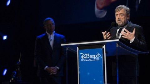Carrie Fisher et Mark Hamill nommés au rang de Légendes Disney