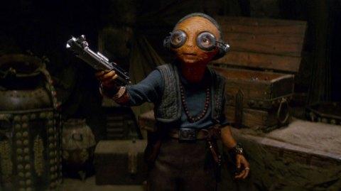 Le rôle de Maz Kanata dans Les Derniers Jedi