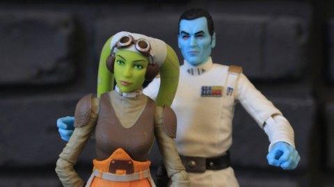 Review des Figurines Hasbro Black Series de Rebels
