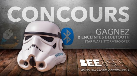 CONCOURS - Gagnez 2 enceintes Stormtrooper avec Bee&See