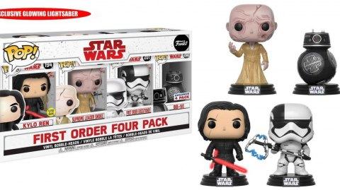 Deux packs Funko Pop pour Les Derniers Jedi