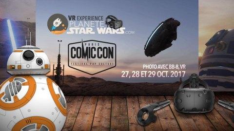 Planète Star Wars sera au Comic Con Paris avec un sacré programme !