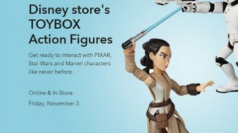 Des figurines Toybox Disney Infinity