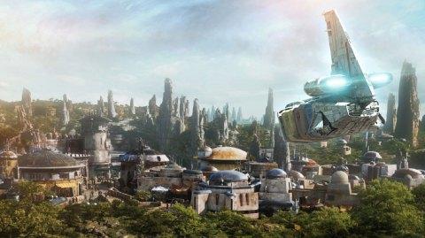 Batuu est la planète choisie pour le Galaxy's Edge