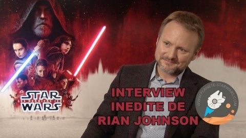 Interview de Rian Johnson sur Les Derniers Jedi, la prochaine Trilogie