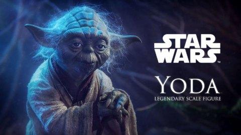 Sideshow: Yoda Legendary Scale Figure