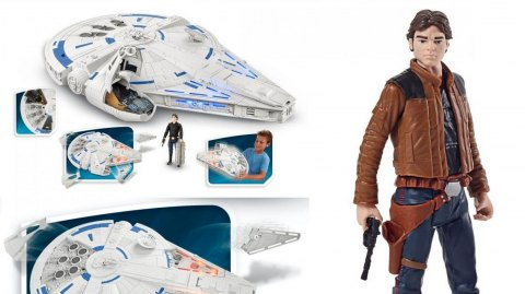 Les premiers jouets de Solo, A Star Wars Story se dévoilent