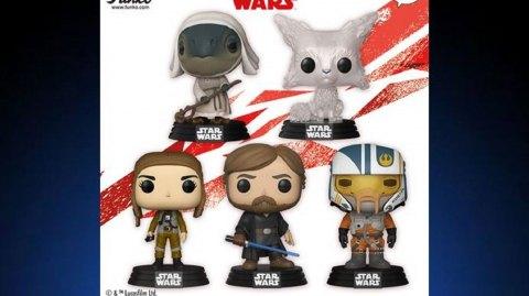 Deuxième vague de Pop pour les Derniers Jedi
