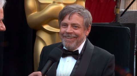 Mark Hamill donne une théorie sur la mort de Luke Skywalker aux Oscars