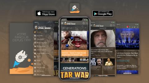 Nouvelle version de l'App du Fanclub Star Wars !