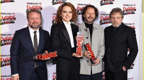 Triomphe pour les Derniers Jedi aux Empire Awards