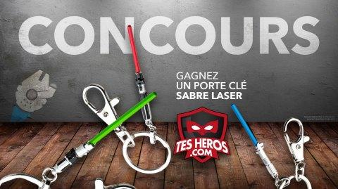 Concours - Gagnez un pack de porte-clés Sabre Laser Exclusif !