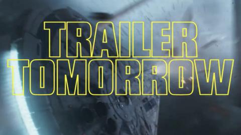 La bande annonce de Solo: A Star Wars Story dans quelques heures !