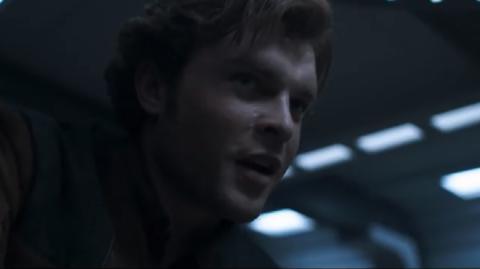 Carton pour les réservations des billets de Solo A Star Wars Story