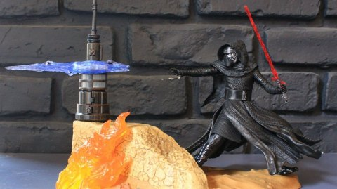 Review de la figurine Kylo Ren Center Piece Black Series chez Hasbro