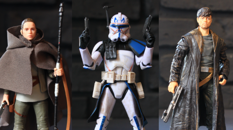 Reviews des figurines de Rey, Rex et DJ Black Series chez Hasbro