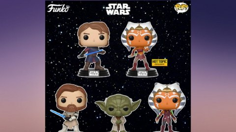 Des Funko Pop de The Clone Wars au Comic Con de San Diego