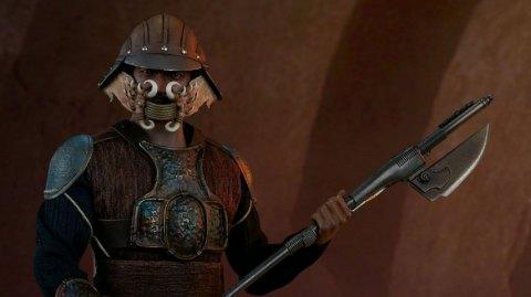 Lando Calrissian du Retour du Jedi par Sideshow