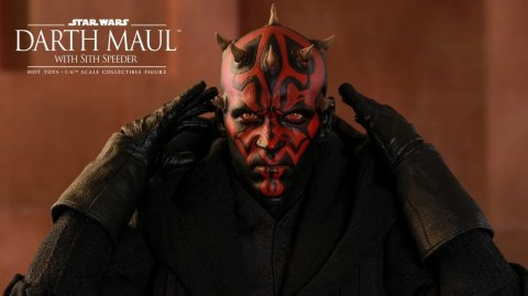 Dark Maul arrive chez Hot Toys !