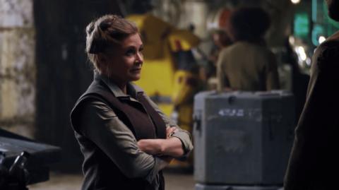 Des rushs des Derniers Jedi utilisés pour redonner vie à Carrie Fisher