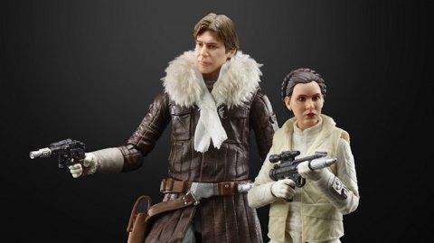 Une Exclue Hasbro Black Series au Comic Con avec Han et Leia !