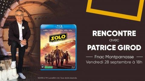 Rencontrez Patrice Girod à la Fnac Montparnasse cette semaine !