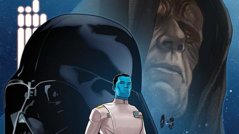 Panini Comics : la couverture de l'adaptation VF de Thrawn