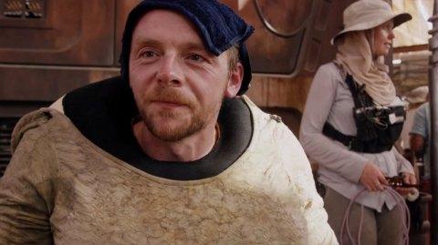 Pour Simon Pegg, George Lucas manque aux nouveaux films Star Wars