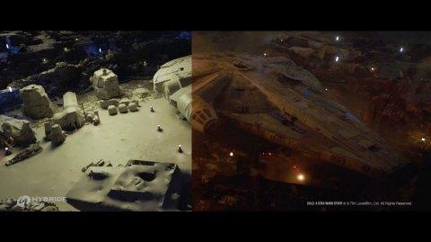 Hybride présente une superbe vidéo des effets visuels de Solo