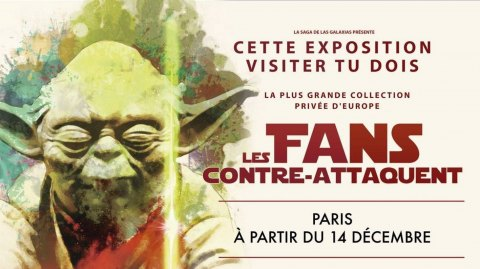 Review et Interview pour l'Expo Les Fans Contre Attaquent !