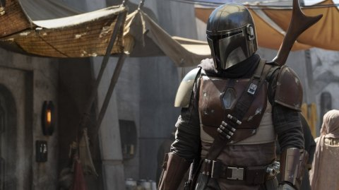 Elon Musk a rendu visite à la production de The Mandalorian