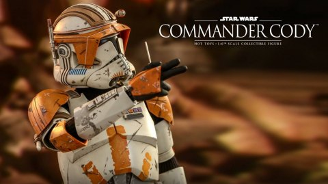 Le Commandant Cody arrive chez Hot Toys