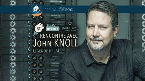 Interview Vidéo de John Knoll légende d'ILM et scénariste de Rogue One