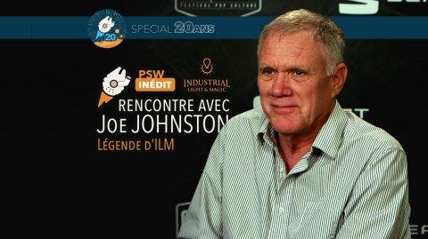 Interview Vidéo de Joe Johnston, réalisateur et légende d'ILM