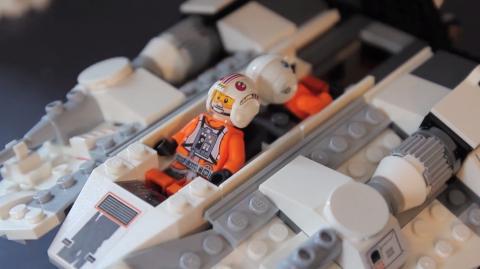 Unboxing du Snowpeeder Lego Star Wars