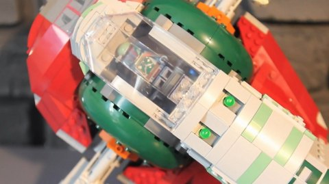Unboxing du Slave One Lego Star Wars