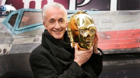 Des Ciné Concerts Star Wars avec Anthony Daniels en France !