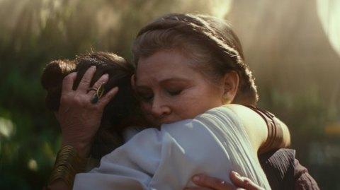 Comment Carrie Fisher a été vieillie pour l'épisode IX