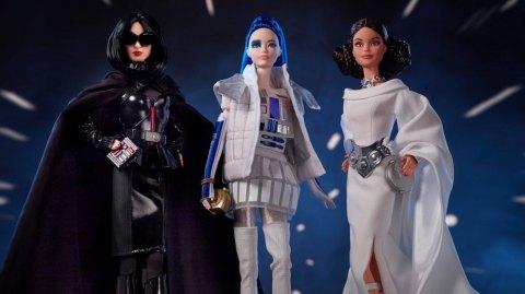Barbie lance trois poupées collectors Star Wars