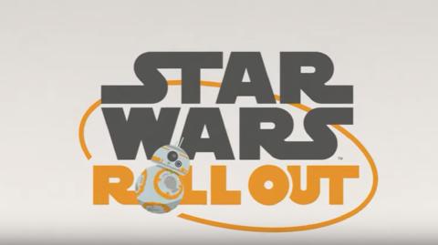 Nouvel épisode pour la série Star Wars Roll Out
