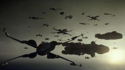 Analyse des nouvelles images de l'Ascension de Skywalker