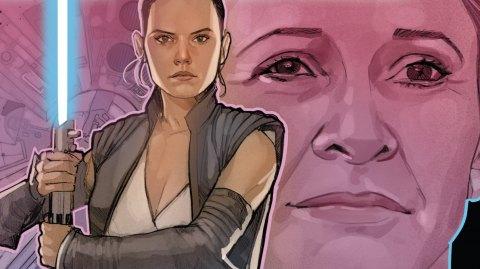 Premières images pour les comics Age of Resistance sur Rey et Rose